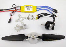 KGPM845- 1 set BL Motor,30A ESC & Folding Prop.(8x4.5)for mini RC Powered Glider