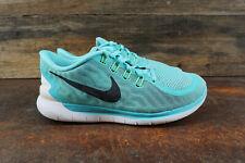 Nike Free 5.0 724383-400 Womens Size 8 Running Shoes Turquoise Black