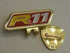 TaylorMade R11 Golf Ball marker with hat clip!! Gold, Red, & Yellow