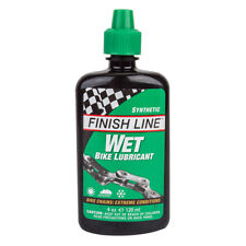 Finish Line Wet Bike Lubricant Lube F-l Cross Country Wet 4oz Drip Bottle 12/bx