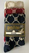 3 Paar Harry Potter Damen Socken Strümpfe Set Hogwarts Logo Bunt 37-42 Primark
