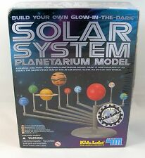 Build Your Own Glow in the Dark Solar System Planetarium Model Kidz Labs