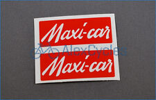 French Maxi-Car Maxi Car Hub Decals Stickers