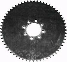 "GO KART GO CART MINI BIKE STEEL PLATE SPROCKET 60-TOOTH FOR 41 CHAIN 10"" OD"