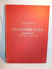 G. LAFENESTRE LES ARTS EN ITALIE GRAND LIVRE 37x52cms 1889 28 EAUX FORTES HORS T