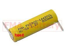 10Pcs Ni-Cd AA 1.2V 900mAh Rechargeable Battery  Nickel Cadium cell 14*49mm U/R
