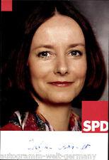 Evelyne GEBHARDT SPD TOP AK 90er Years Original Signed +8043
