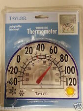 "Taylor WINDOW CLING OUTDOOR THERMOMETER  7"" NEW!!"