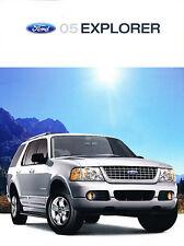 2005 Ford Explorer SUV Original Sales Brochure