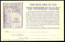 SHREDDED WHEAT Wonders Of Niagara Book Offer 1934 Promotional Advertising PC NY
