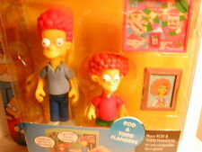 2003 The SIMPSON`s interactive figure WOS series 9  ROD & TODD FLANDERS