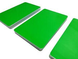 Plastikkarten GRÜN | 1 - 500 Stück | Premium Qualität aus Deutschland