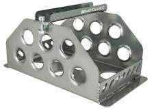 Motamec Std Size Alloy Car Battery Tray Aluminium Box Holder Titanium Anodized