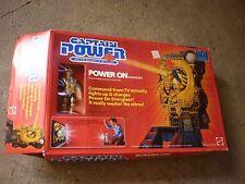 Vintage 1987 Captain Power NEW IN BOX Power On Energizer HTF RARE Mattel