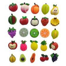 "Fruit Pie Wrapper FRIDGE MAGNET Set /""style B/"" cherry pineapple strawberry"