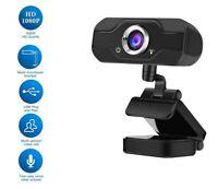 Webcam HD 1080p 4k Full Focus Web Tedgem Camera Microphone For Desktop Laptop
