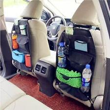 Car Auto Back Seat Organizer Holder Multi-Pocket Pouch Storage Bag Hanger Black