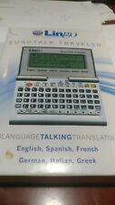 Lingo Eurotalk Traveller 6 Languages Talking Translator Model Tt-6000 Spanish