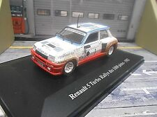 RENAULT 5 Turbo Rallye des Pistes #1 Chatriot Sodicam 1982 France Eligor 1:43