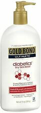 Gold Bond Ultimate Diabetics' Dry Skin Relief Hydrating Lotion - 13 oz, Pack...