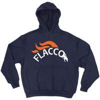 Joe Flacco Denver Broncos Logo HOODED SWEATSHIRT