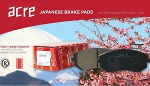 Front Japanese Brake Pads Set for Eunos 30X 1.8i 1995 - 96