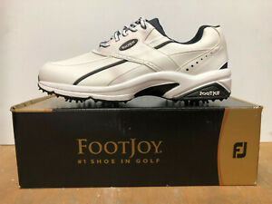 Vintage Footjoy Greenjoys Golf Shoes Spikes Mens Size 12 Deadstock 90s NOS 45572