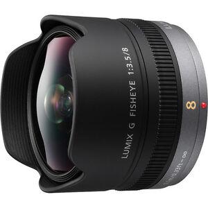 New PANASONIC LUMIX G FISHEYE 8mm F3.5 Lens [H-F008]