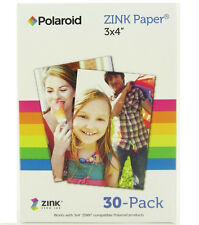 "30 Sheets 3x4 3x4"" Polaroid Zink Photo Paper M34030A for GL10 Z340 Printer"