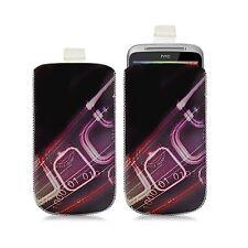 Housse coque étui pochette pour HTC ChaCha avec motif HF07