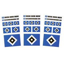 "HSV Aufkleberkarte 3 Bögen ""Hamburg SV"" Hamburger SV"