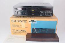 Sony tc-k700es fabricada pletina de casete-EnterpriseServices-Mint-OVP manual excellent