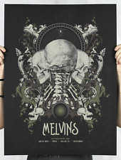 The Melvins Concert Poster - Anonymous Ink & Idea - Limited Edition of 83