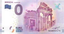 BRESCIA IL CAPITOLIUM - SOUVENIR BILJET 0 EURO, Italy - 2017/1-UNC(SB18)