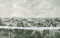 München von Süden : Nach einer historischen Darstellung - um 1925   V 7-10