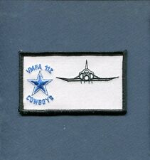 VMFA-112 COWBOYS F-4 PHANTOM USMC Marine Corps Fighter Squadron Name Tag Patch