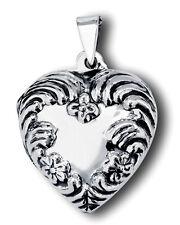 Heart Locket Sterling Silver