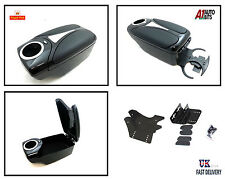 Armrest ARM BLACK TOYOTA AVENSIS COROLLA AURIS YARIS + FRONT & BACK CUP HOLDER