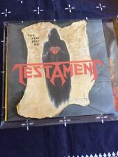 TESTAMENT THE BEST OF CD THRASH METAL ANTHRAX METALLICA MEGADETH REIGN IN BLOOD