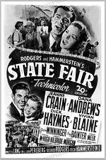 20x30 Print Jeanne Crain Dana Andrews Vivian Blaine State Fair 1945 #088