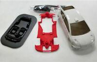 Chasis C4 Hybrid Mustang Slot Design + carroceria Ninco C4  M-CH0024C