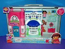 Dora Puppy Pet Shop and Parlor Playset Kmart Exclusive RARE 2009 NEW