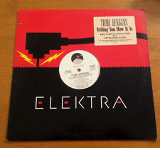 Tomi Jenkins Telling You How It Is 12 Inch Vinyl 1989 Elektra ED 5373 PROMO
