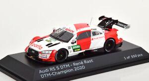 1:43 Spark Audi RS 5 DTM Champion Rast 2020