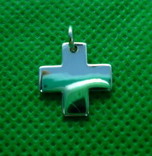 New Square Cross Pendant Women 925 Sterling Silver  Necklace fashion jewelry