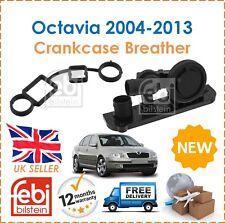 For Skoda Octavia 1Z3 1Z5 Febi Crankcase Valve Engine Block Breather New