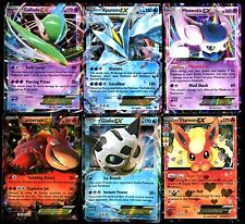 POKEMON CARD Lot de 6 Cartes EX N° LPAEX6 002 ( KYUREM MEOWSTIC GALLADE etc...)