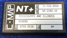 C-Map NT+ NA-C040 Mississippi and Illinois Rivers GPS Map Chart C-Card RL70 RL80
