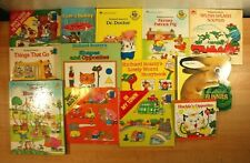 RICHARD SCARRY Picture Books For Children! PB/HC/Board Book, Lot of 13!