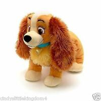 New Disney Store Lady And The Tramp 30cm Lady Soft plush  Toy
